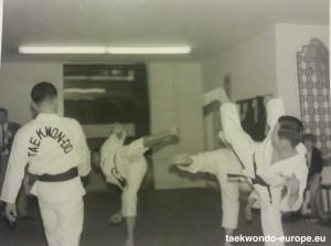 Taekwon-Do Seminar und Vorführungen  in der Kampfkunstschule Carl Wiedmeier
