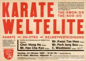 TaekwondoPlakat1965